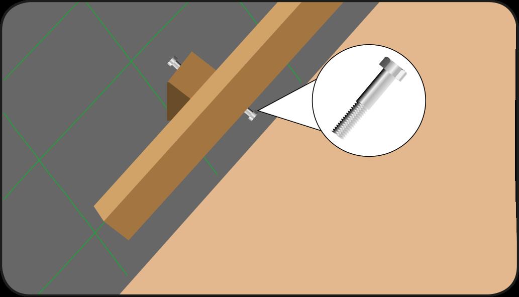 Monieren typ 2 -  terrasse anlegen