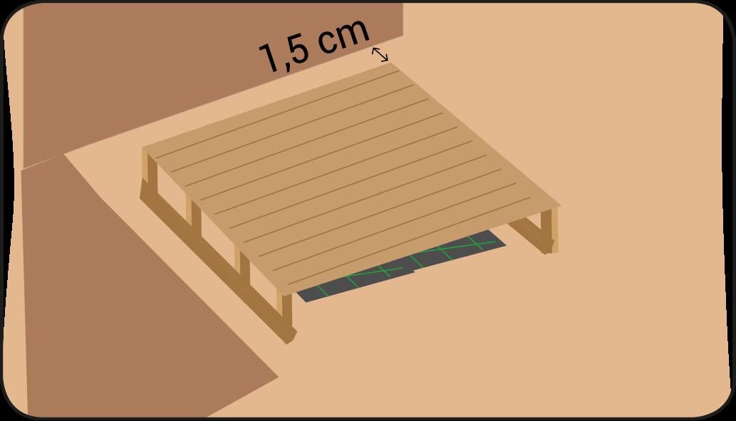 Terrasse zusammenbauen - terrasse anlegen